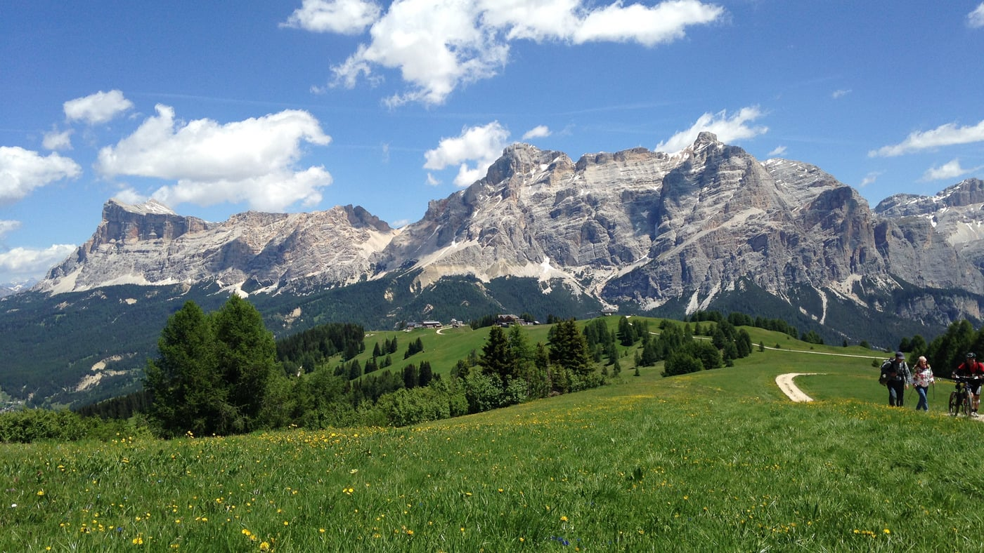 The Dolomites are calling...so don't waste time!