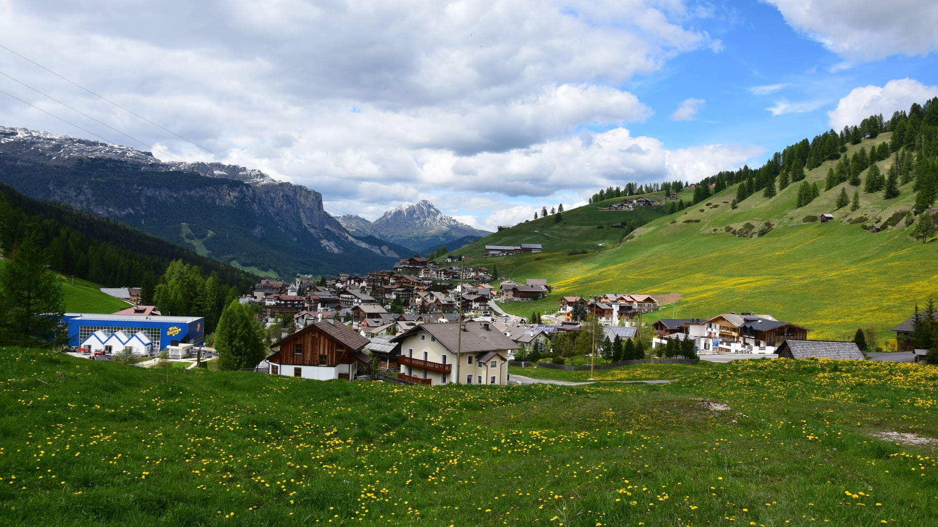 The village San Cassiano